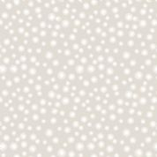 Lewis & Irene A Countryside Winter - 5535 - Stylised Snowflakes on Pale Grey - C20.1 - Cotton Fabric